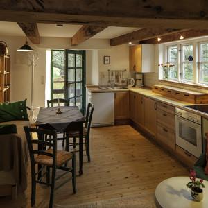 Die gemütliche Wohnküche (erste Etage)